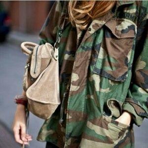Vintage military camo jacket